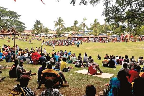 Journée de fête au Vanuatu