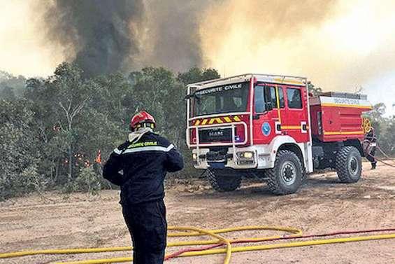 Près de 1 200 hectares détruits à Poum