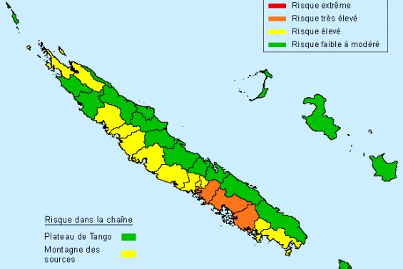 Trois communes en risque de feu de forêt très élevé