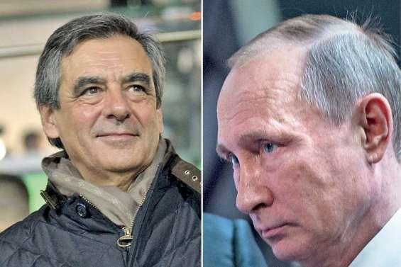 Fillon, un ami de Poutine dans la course à l'Elysée ?