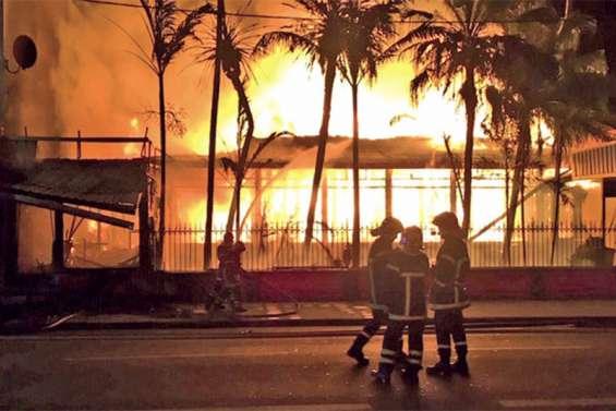 Mise en examen, l'incendiaire du centre-ville en prison