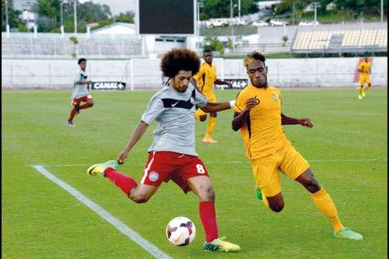 Après leur victoire sur les Papous, les Vatu Boys en demi-finales