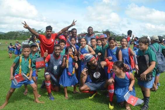 Jeux du Pacifique : toujours aucun but encaissé par les footballeurs calédoniens