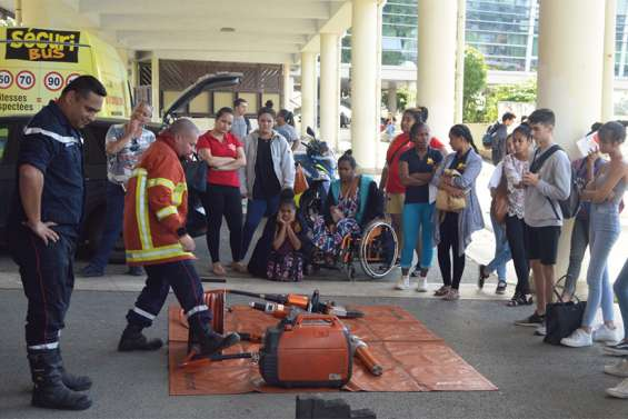 Un Forum de sécurité routière d'ampleur au sein du lycée du Grand-Nouméa