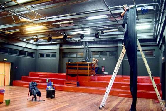 Le centre culturel va s'équiper d'une fosse pour les spectacles