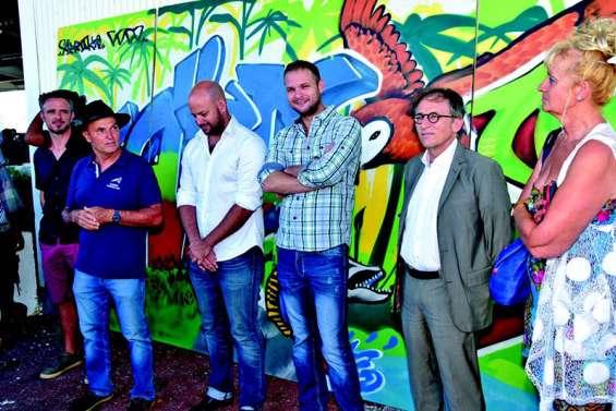 Fresques du marché de Ducos, une réussite artistique et humaine