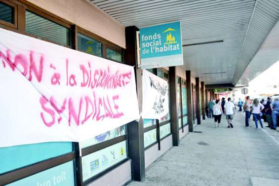 Tensions syndicales et blocage au FSH