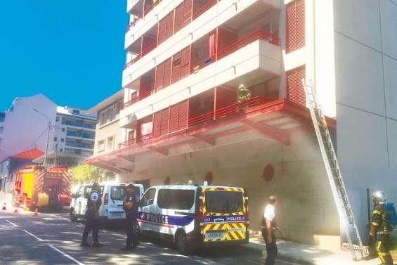 Fumées suspectes dans un immeuble : il s'agissait de produit contre les cafards