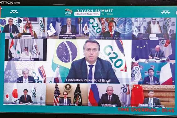 Les vaccins contre la Covid-19 au cœur d'un G20 inédit, en mode virtuel