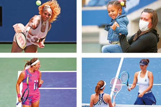 Serena, Azarenka, Pironkova, le « gang of New York » des mamans
