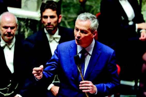 La France présentera en février un projet de loi pour taxer les Gafa