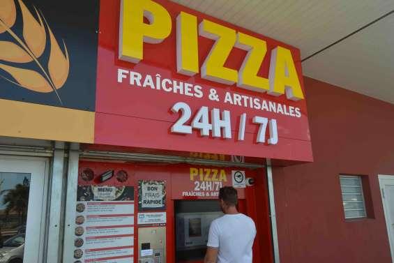 Mont-Dore : un distributeur automatique de pizzas installé à Boulari