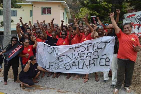 Les salariés de l'Asea-NC poursuivent la grève
