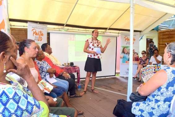 Candidate Calédonie ensemble, Manina Tehei se lance dans les municipales à Païta