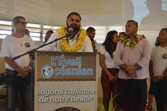 Premier meeting de campagne à Païta pour l'Éveil océanien