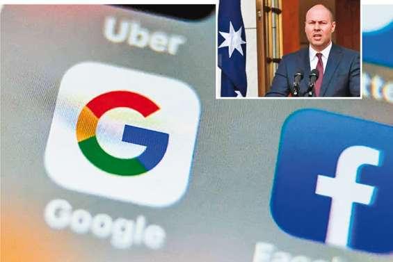 L'Australie dévoile son projet pour faire payer Google et Facebook