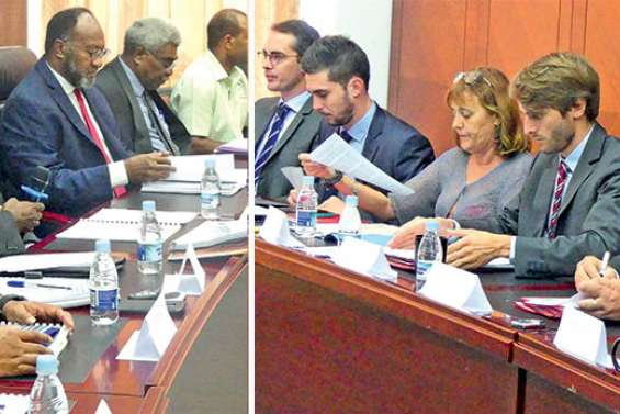 La coopération avec  le Vanuatu se confirme