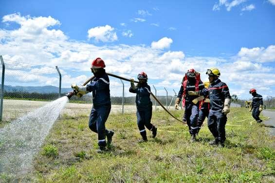 La saison des feux de forêt est lancée à Koné