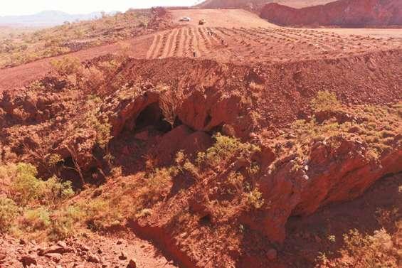 Rio Tinto reconnaît avoir détruit des grottes aborigènes