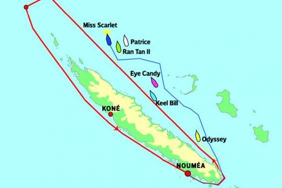 Groupama Race : les écarts se creusent entre les premiers et le reste de la flotte