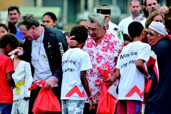 Un bel hommage aux bénévoles lors du 30ème anniversaire de la fête du sport