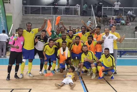 Futsal : l'ASPTT remporte la Coupe de Calédonie