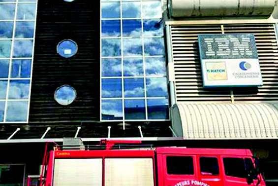Début d'incendie dans  un immeuble de Nouméa, pas de blessé