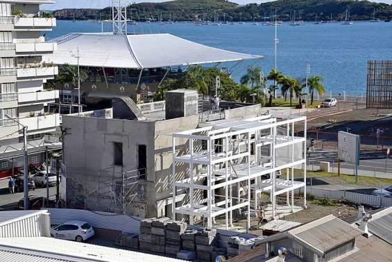 Le chantier de réhabilitation de l'immeuble Cheval à mi-parcours