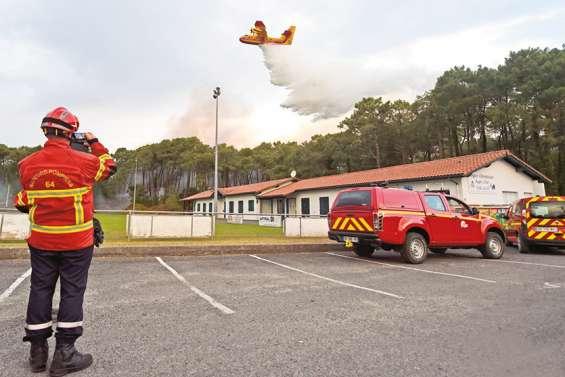 L'incendie d'Anglet serait d'origine humaine
