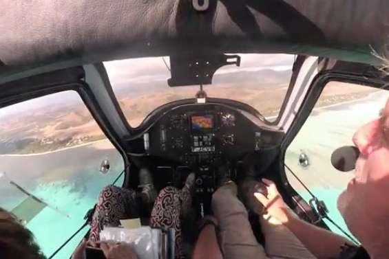 [VIDÉO] Atterrissage en musique sur l'aérodrome de Poé