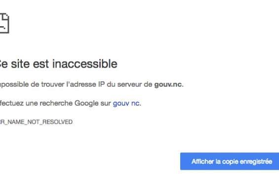 Les sites internet du gouvernement sont restés momentanément inaccessibles ce mercredi matin
