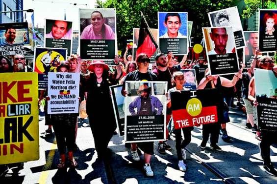 Des milliers de manifestants dénoncent« le jour de l'Invasion »