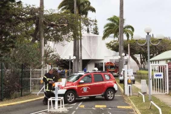 L'IRD évacué pour des fumées suspectes