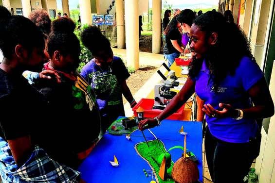 Le lycée de Pouembout a stimulé les jeunes scientifiques