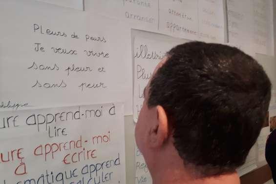 La lutte contre l'illettrisme à découvrir jusqu'à 14 heures à l'Ecole de la réussite
