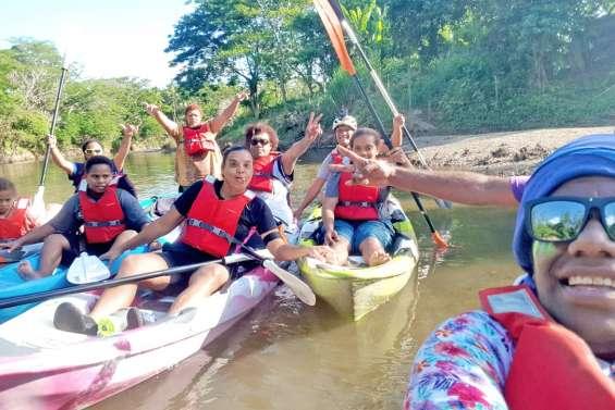 Quatre balades en kayak sur la Yuanga