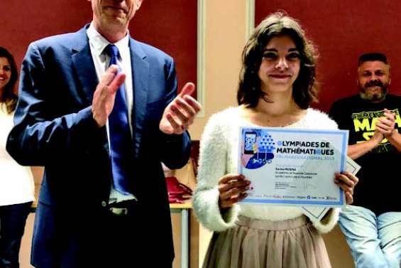 Karina Musina, lauréate des Olympiades de mathématiques