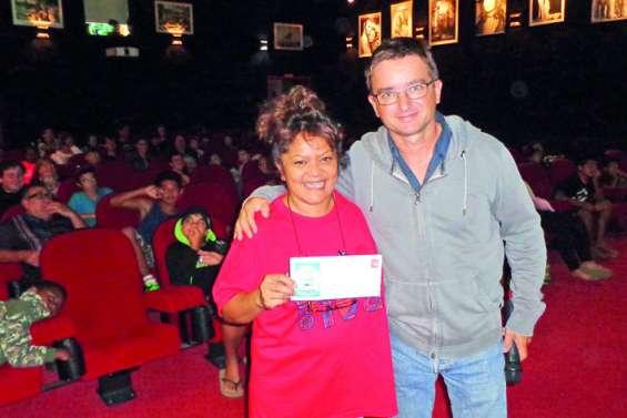 Le cinéma de La Foa a accueilli son cent millième spectateur