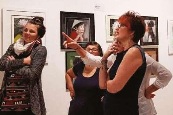 La Passion au bout des doigts s'expose au centre culturel