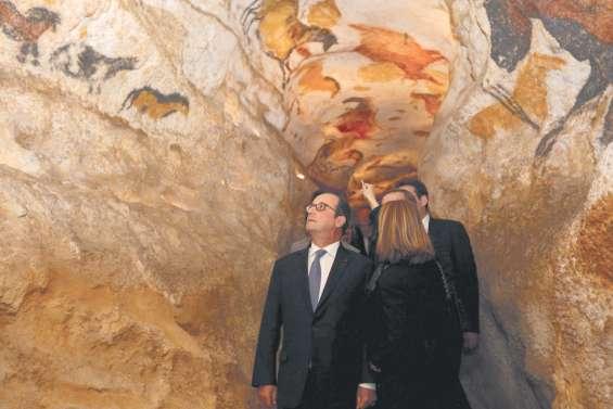 Saga Lascaux : Hollande inaugure le dernier opus