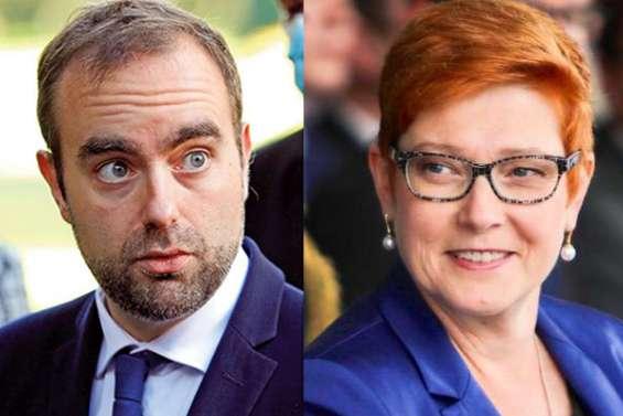 Sébastien Lecornu s'est entretenu avec la ministre australienne des Affaires étrangères