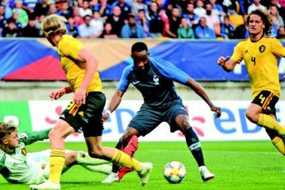 Les Bleuets trop forts pour la Belgique