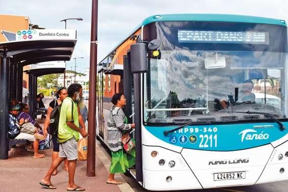 Changements sur les lignes du Grand Nouméa à partir de lundi