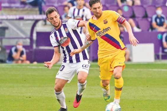 Le Barça n'abdique toujours pas