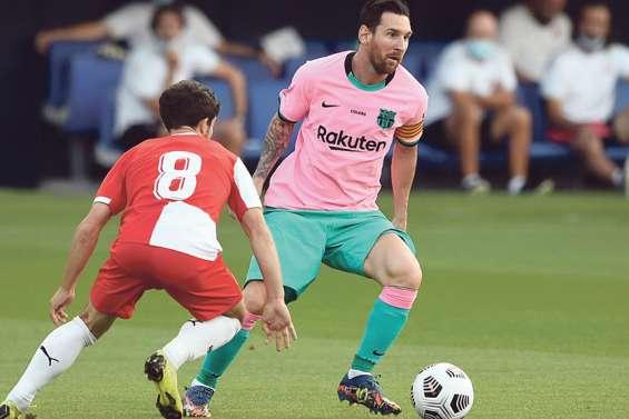 Messi fait gagner le Barça avant de reprendre le championnat