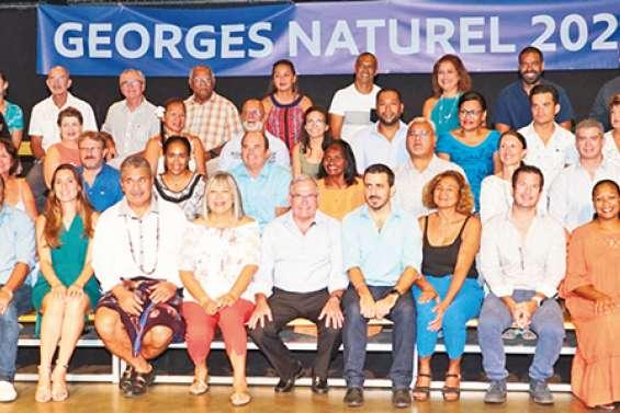 Georges Naturel présente sa liste d'union pour Dumbéa