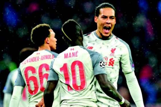 Avec Liverpool, 4 sur 4 pour les Anglais
