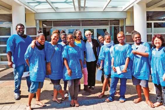 Les lycéens d'Augustin-Ty ont visité les institutions calédoniennes