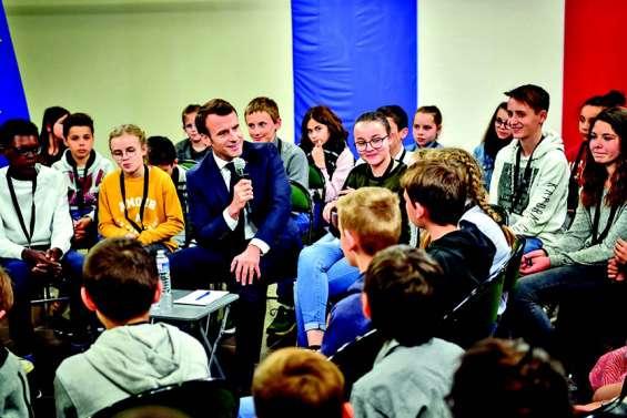 Macron termine le grand débat ce jeudi en Corse, dans un contexte tendu