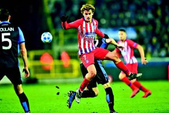 Antoine Griezmann porte l'Atlético Madrid vers la victoire